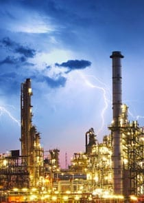 Industrial Lightning Protection
