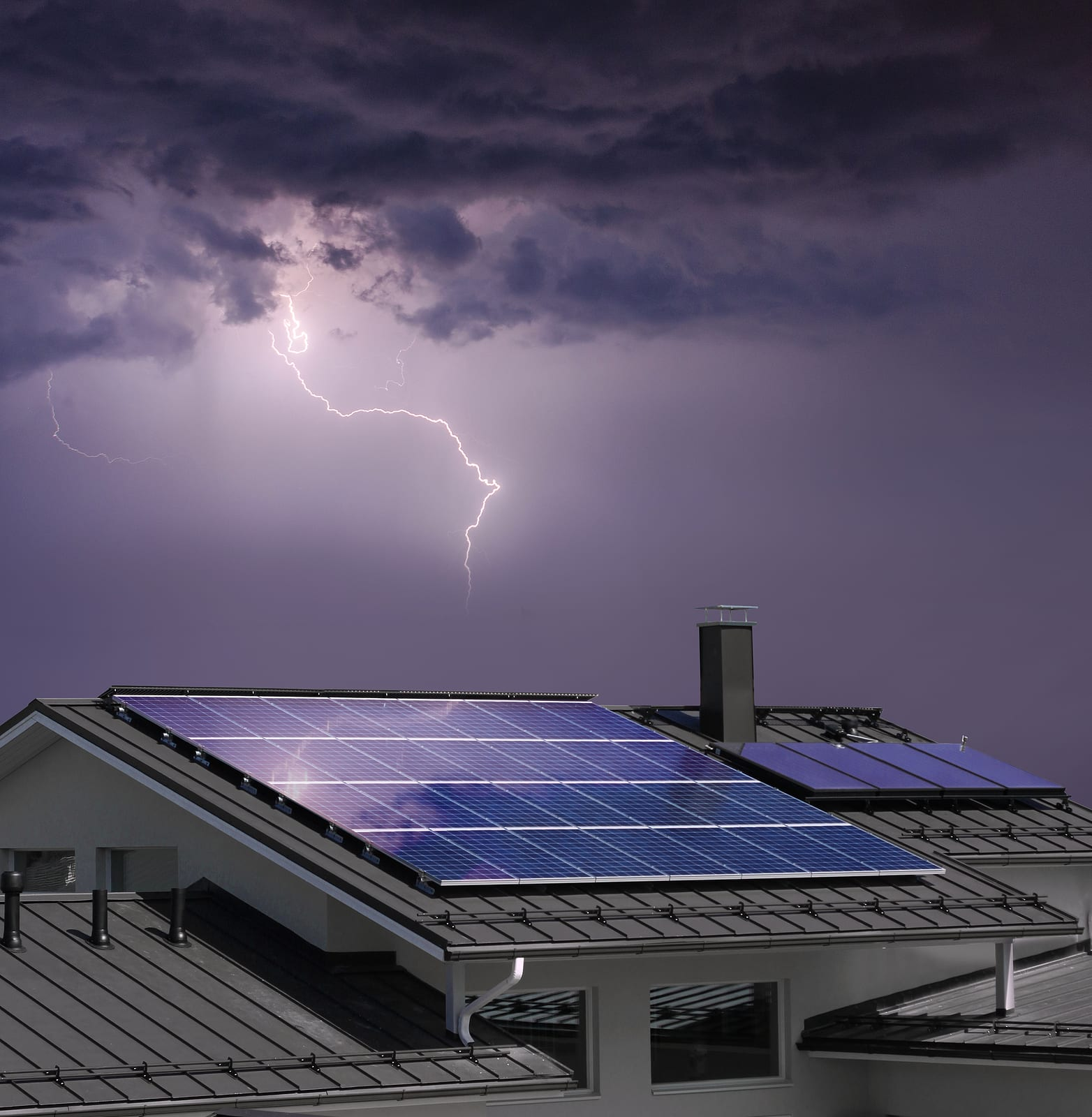 Lightning Protection for Solar Power Plants & Structures | VFC